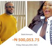 Tunde Ednut Transfers 500k To Popular Nigerian Actress