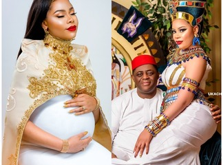 See The Igbo Lady FFK Got Married To, Who Is 29 Years Younger Than Him