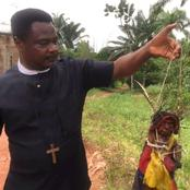 2 Years After Destroying A Shrine In Imo State, See What Is Happening To Bishop Nelson (Photos)