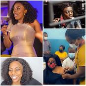 Nana Aba Anamoah Finally Takes The Covid Jab But Ghanaian Fans Are Attacking Her Because Of This