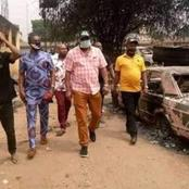 One Police Officer Dead, Vehicles Burnt As Hoodlums Attack Police Station.
