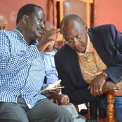 Eyebrows Raised As Senior Kenyatta Family Member Joins Gideon Moi In Visiting Raila Odinga
