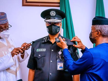 After The Vice President Decorated Usman Baba As The New Inspector General, See How People Reacted