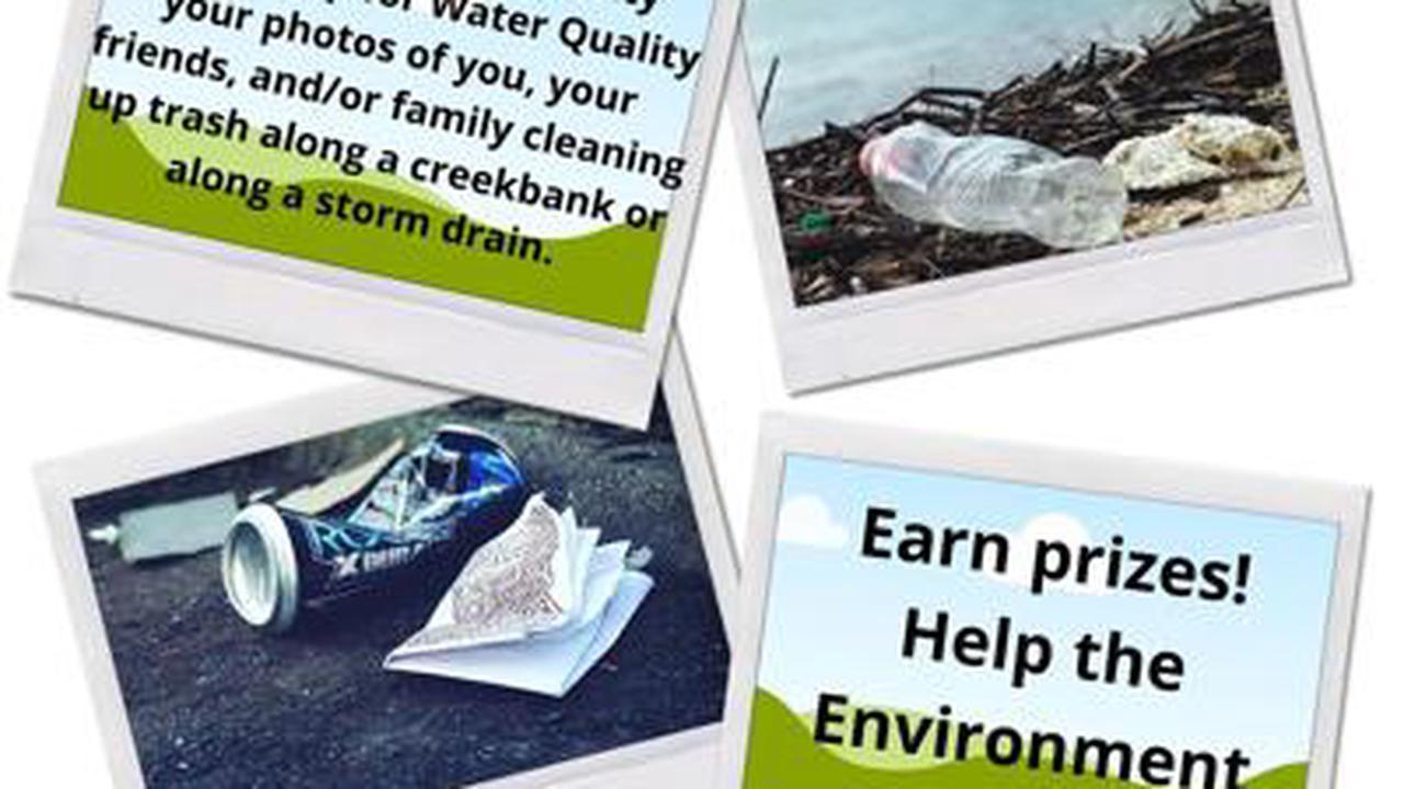 Morgan County Partnership for Water Quality having a virtual clean up event