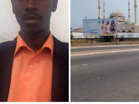 After a Muslim man saw this billboard close to a central mosque, check out what he said