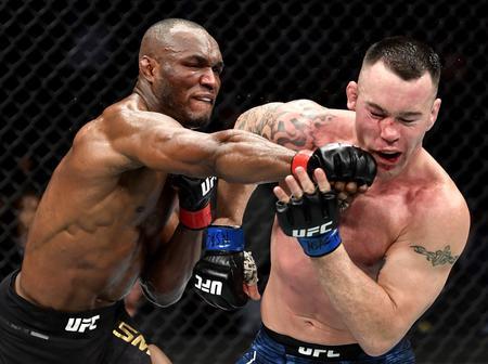 Kamaru, Joshua, Adesanya: 'Don't Fight Nigerians' -Twitter Reactions To Usman's #UFC245 Victory