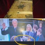 See What Joe Biden Was Found Placing Hand On That Has Caused Reactions From Facebook Users