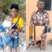 See What Has Been Done To A Man For Attempting To Kidnap A 4 Months Old Baby In Anambra(Photos)