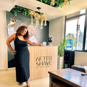 Inside The Posh After-shave Barber Inside The Posh After-shave Barber  Shop Owned By Betty Kyallo[Pictures]