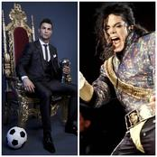 Is Michael Jackson More Popular than Ronaldo? Check Out Reactions To This Question