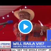 Oburu Odinga Tells Mudavadi And Wetangula To Wait Untill Raila Finishes His Term
