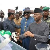 VP Yemi Osinbajo Is 64 Years Today, See Photos Of Him with Wike, Pastor Adeboye And Bishop Oyedepo