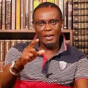 Prof. Mutahi Ngunyi Sends Dennis Itumbi a Message