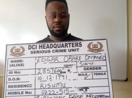 What DCI Wrote About Blogger Edgar Obare After Arresting Him