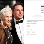 Billionaire With Brains - See Elon Musk's Result When He Was 17 Years Old That Was Shared By His Mom