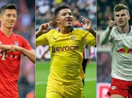 Bundesliga Top Goal Scorers Last Season