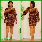 Checkout these charming dress styles that will make you stand out this Sunday