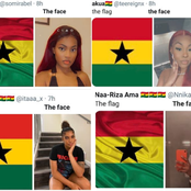 The Flag The Face Challenge Reveals That Ghana Has Some of The Most Beautiful Ladies In The World