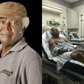 Lovely Photos of Late Nollywood Actor Bruno Iwuoha Spending Quality Time on Set Before His Demise