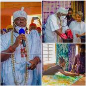 Ooni of Ife launches a new textile factory in celebration of Aje Festival. (Photos)