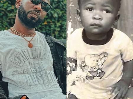 People Reacts As Bisa Kdei Celebrates His Birthday With A Baby Picture Of Himself
