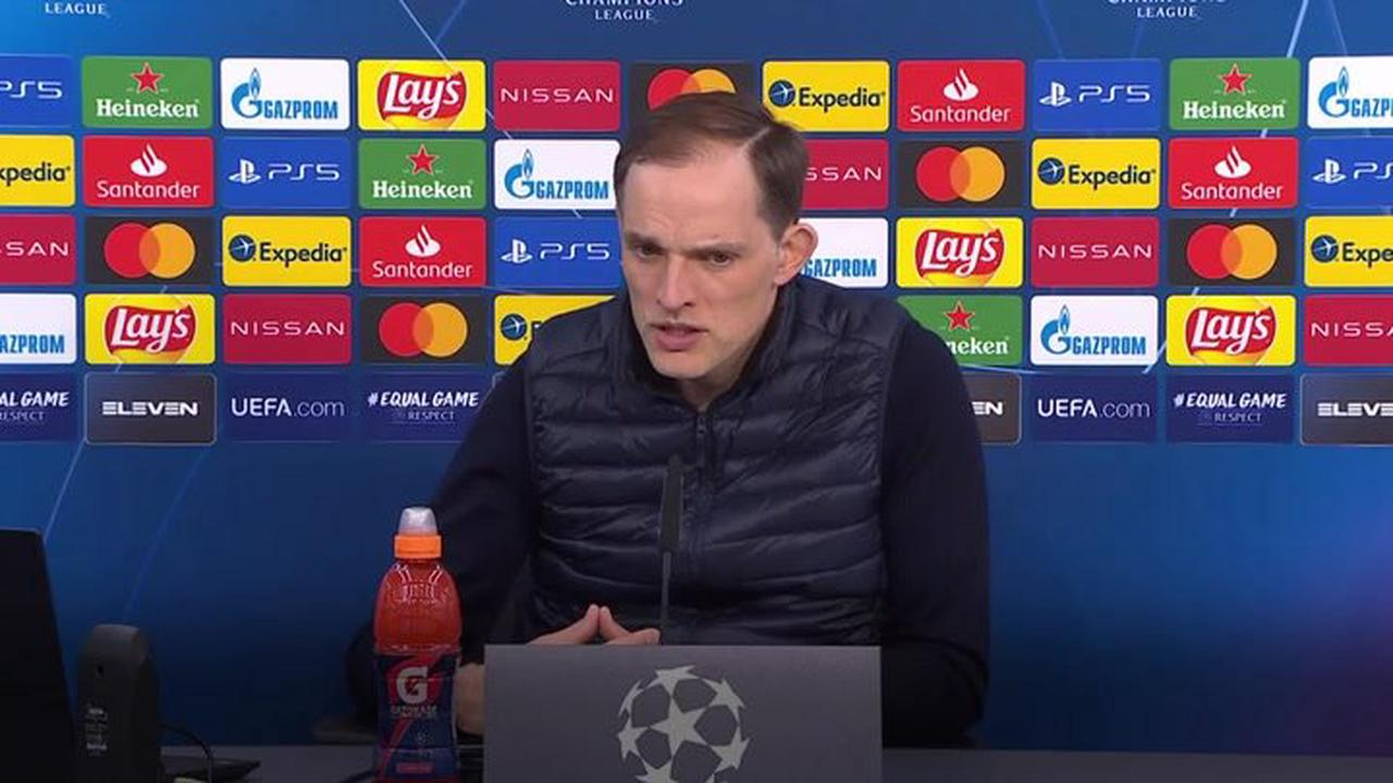 Malang Sarr and Thomas Tuchel's moment at full-time after Chelsea's Champions League win