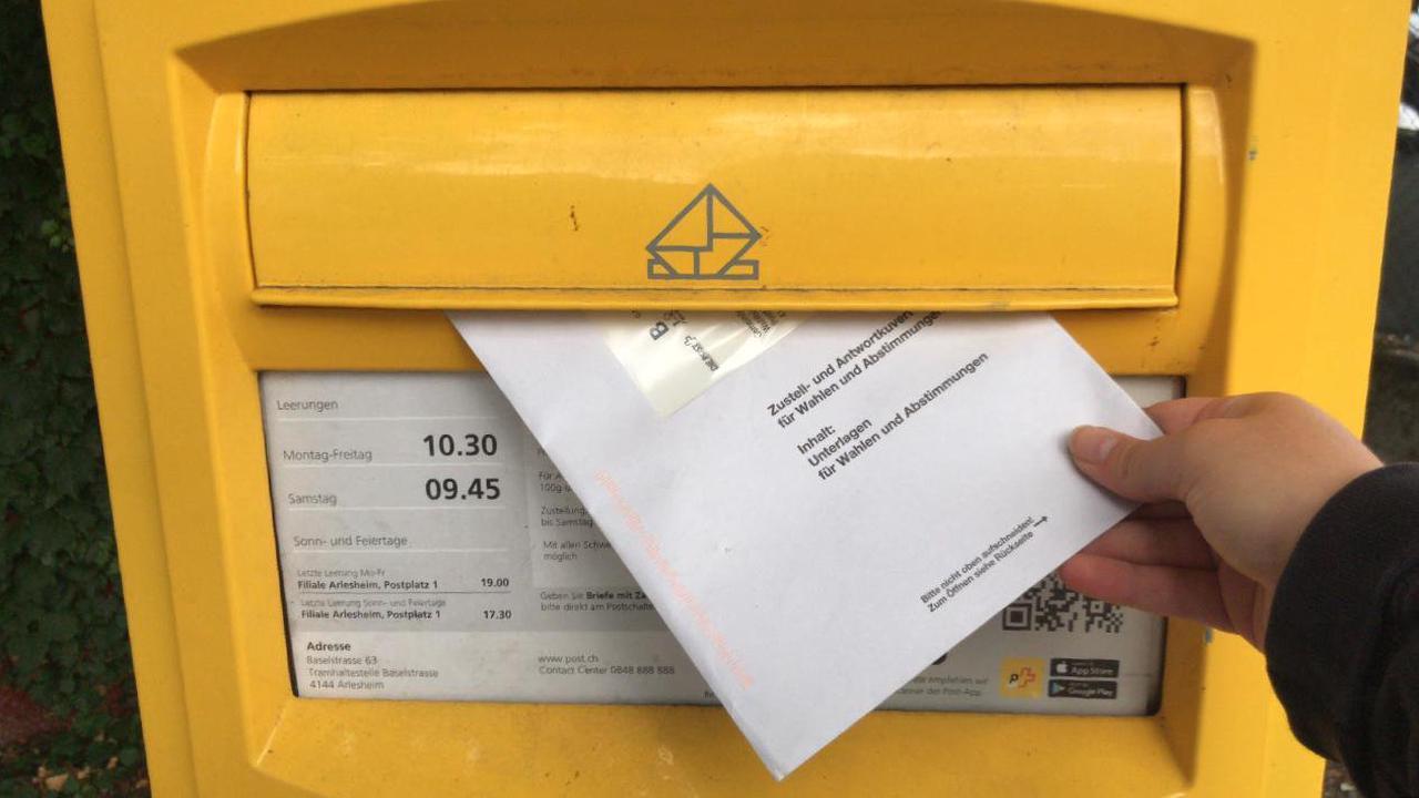 Heute kann noch per Brief abgestimmt werden