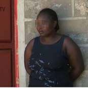 Woman On The Spot After The Mysterious Death Of Her Husband Who Allegedly Committed Suicide