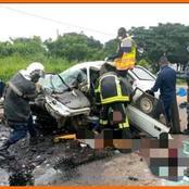 Drame: les membres d'une famille sont mortes dans un grave accident de circulation à Yamoussoukro