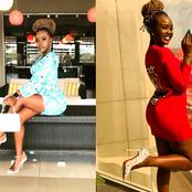 Checkout How Azziad Rocks Her Short Dresses In Style