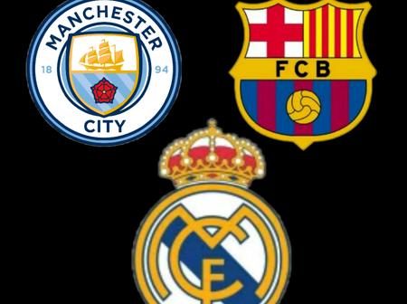 Man City to battle Madrid and Barcelona for Serie A star.
