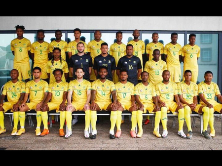 The 26 men national team squad is selected by the coach Molefi Ntseki and ready for Afcon