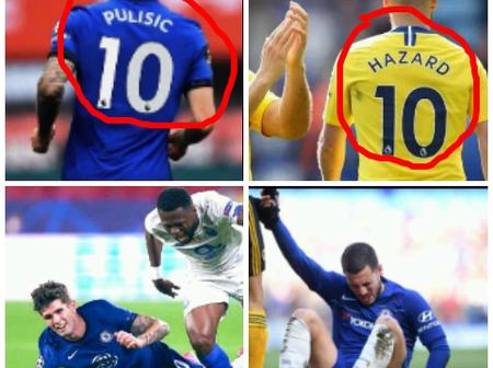 Why Pulisic Has Made Eden Hazard to Trend on Twitter After Chelsea Lost to Porto Last Night