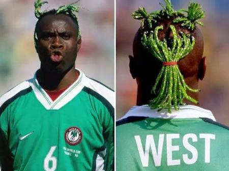 Do You Still Remember Former Nigerian Footballer Taribo West? See Recent Photos Of How He Looks Now.