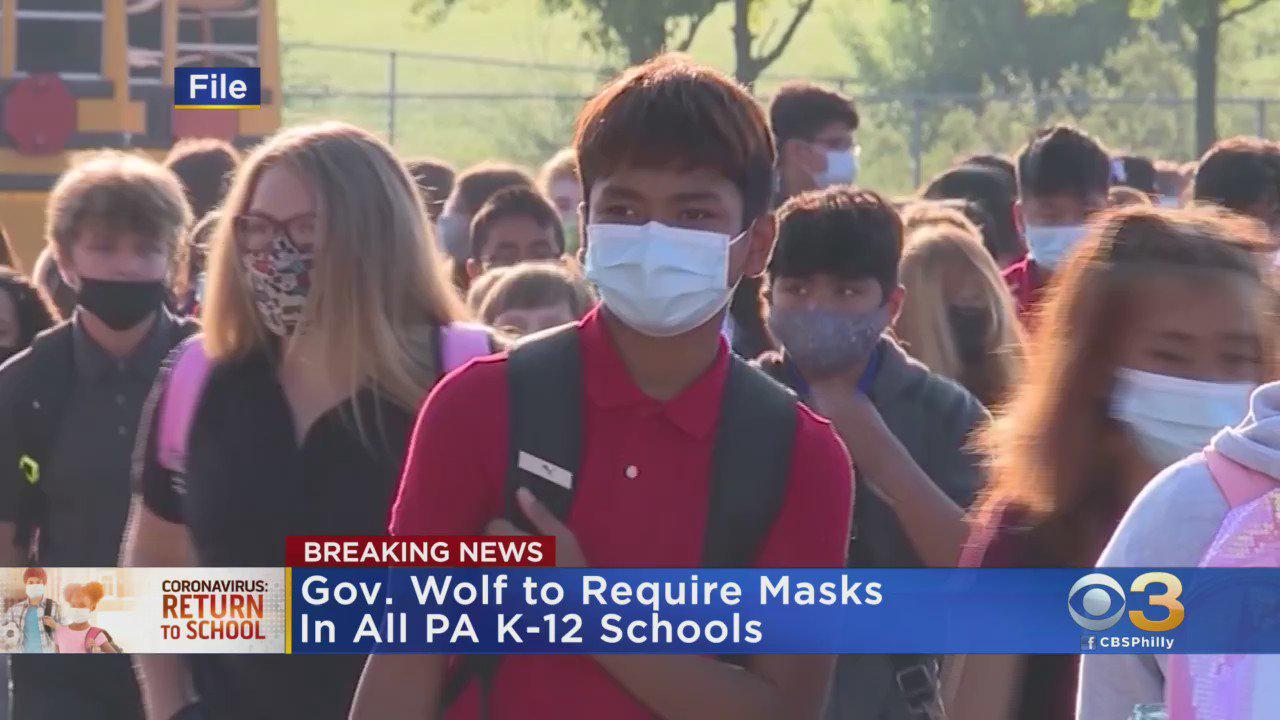 Gov. Tom Wolf Downplays Opposition To Pennsylvania School Mask Mandate As Pediatric COVID Cases Continue To Rise