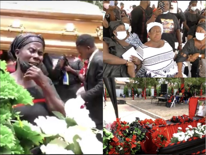 4f9e35225936452a875a924a1ef11ac3?quality=uhq&resize=720 - Sad Scenes From Eddie Nartey's Wife's Funeral; Mother Of The Deceased Cries Uncontrollably- Photos