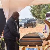 A Mother and Her son Who were Killed in Nairobi Finally Laid to Rest in Uasin Gishu