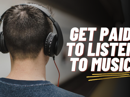 How to get paid for listening to music