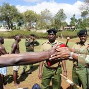 New Police Recruits Begin Their Special Training in Various Campuses