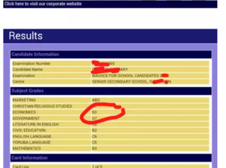 "Cancellation Of WAEC Results: Students That Wrote ""2020 WAEC"" Exams Should Kindly Read This."