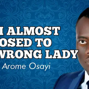 How I almost Proposed To The Wrong Lady - Apostle Arome Osayi