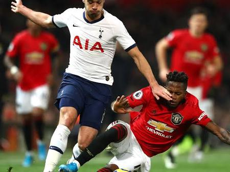 EPL: Manchester United Versus Tottenham (Head 2 Head, Team News And Current Form)