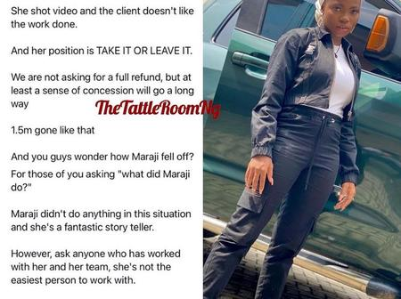 """""""Clout chasing"""" Man who accused Taaoma of collecting N1.5 retract his statement. See reactions"""
