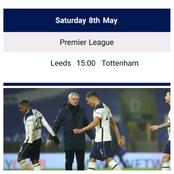 Check Out Tottenham Final Fixtures That Could Put An End To Mourinho's Managerial Roles At Spurs