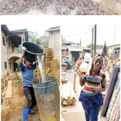 Hard Life: See What She Does To Earn A Living Year After She Graduated From School