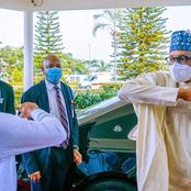 Covid 19 vaccine will be publicly given to Buhari and Osibanjo on Saturday.