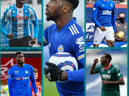 Checkout How Nigerian Players Performed Last Weekend