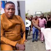 They tried to hold me and there was a tussle, so I removed my cloth- Igboho says after failed arrest