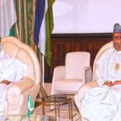 Former Vice President Visits President Buhari
