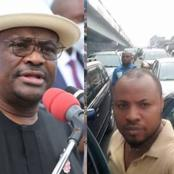 After Governor Wike commissioned Rumuokoro flyover, see what happened today that got people talking